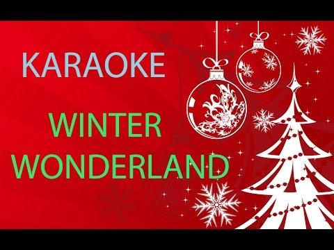 WINTER WONDERLAND - KARAOKE