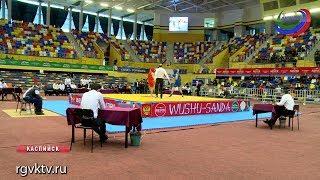 В Каспийске завершились международные соревнования по ушу-саньда