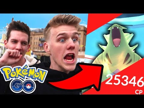INSANE LEVEL 4 POKEMON GO RAIDING + TYRANITAR w/Unlisted Leaf