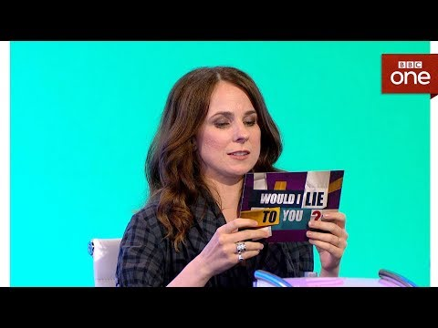 Was Cariad Lloyd sacked from a call centre?  Would I Lie To You: Series 11 BBC One