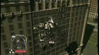 transformers 2 multiplayer gameplay (MEGATRON)