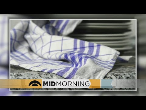 Kitchen Towels Are Infested With Germs, Say Experts