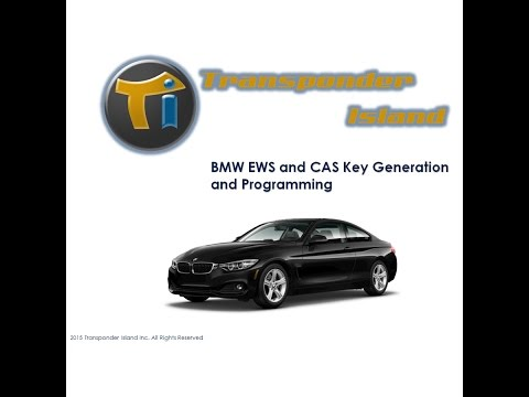 Transponder Island BMW EWS and CAS Key Programming Class