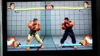 Street Fighter 4 - Tick Throw, Jump In and Cross Up Tutorial Part 1