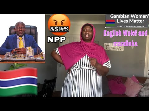 Gambia current affairs Lawyer Darboe took  NPP support to police 👮♀️