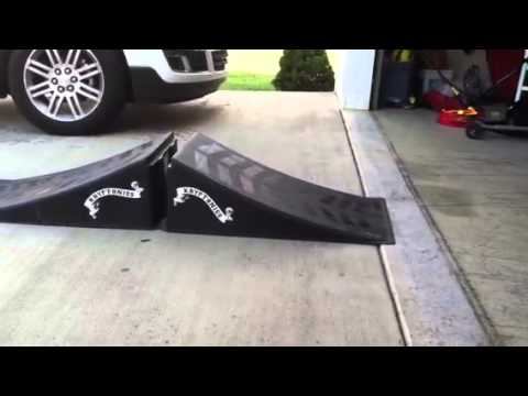 driving a remote control car up a ramp youtube. Black Bedroom Furniture Sets. Home Design Ideas