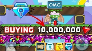 BUYING 10,000,000 GEMS! [FOR 100 DLS!] OMG! - Growtopia
