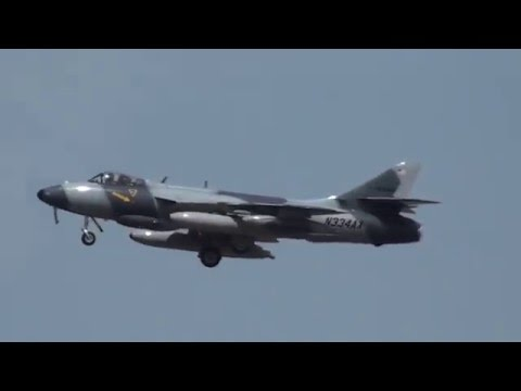 IAI F-21 Kfir & Hawker Hunter Low approach