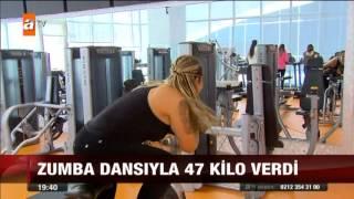 Zumba Dansıyla 47 Kilo Verdi