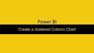 39 خلق متفاوت عمود الرسم البياني Power BI