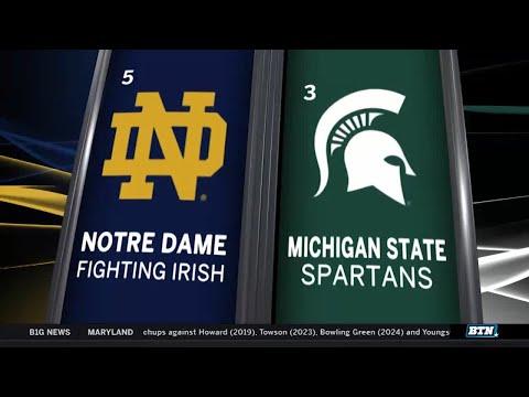 Notre Dame at Michigan State - Men's Basketball Highlights