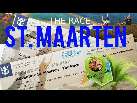 """The Race"" - Adventure St. Maarten!  We WON!  