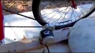 Bicycle Generator for electric power