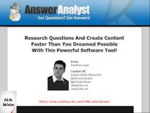 Answer Analyst