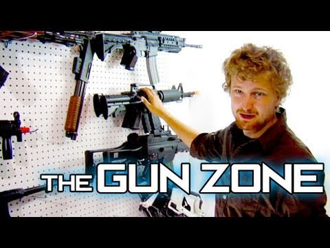 The Gun Zone (Best Way To Store Airsoft Guns)