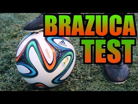 Adidas Brazuca Test   World Cup 2014 Match Ball Outdoor Test by Ilaripro