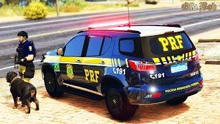 POLÍCIA RODOVIÁRIA FEDERAL ENCONTRA DROGAS COM AJUDA DE CÃO FAREJADOR