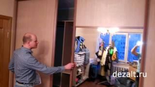 Шкаф купе - мини гардеробная(Мини гардеробная от фирмы Дэзалт., 2013-11-26T22:55:13.000Z)