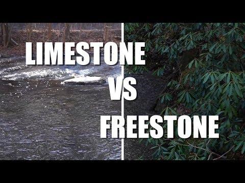 Limestone Vs  Freestone - Central Pennsylvania