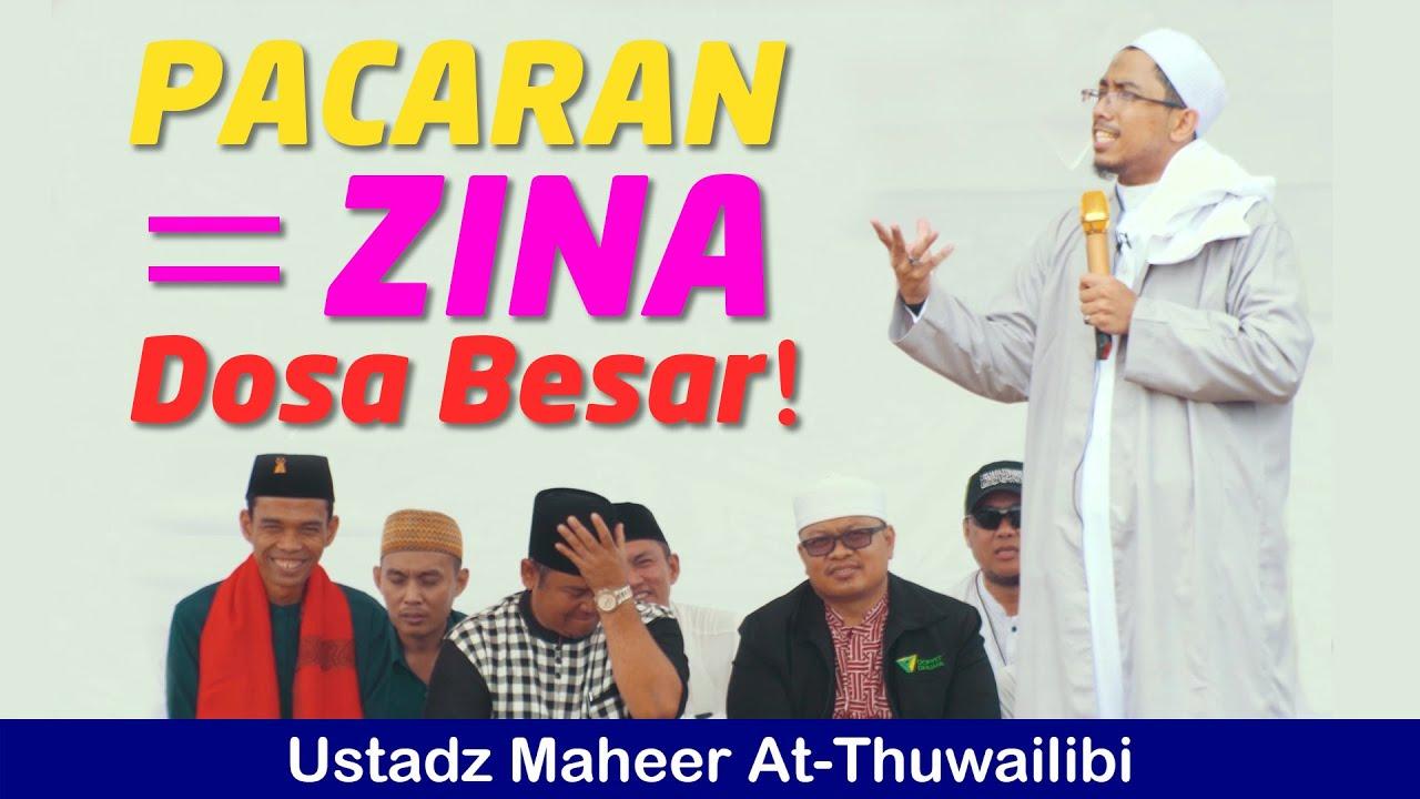 Pacaran Dosa Besar Ustadz Maheer At Thuwailibi Di Stadion Tugu Jakarta Utara 087880479773 Youtube