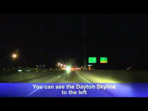 I-75 South At Night: Dayton, OH