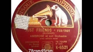 Just Friends   Ambrose mit Sam Browne