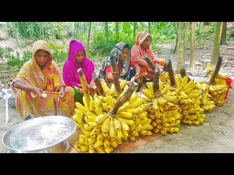 Collecting Banana From
