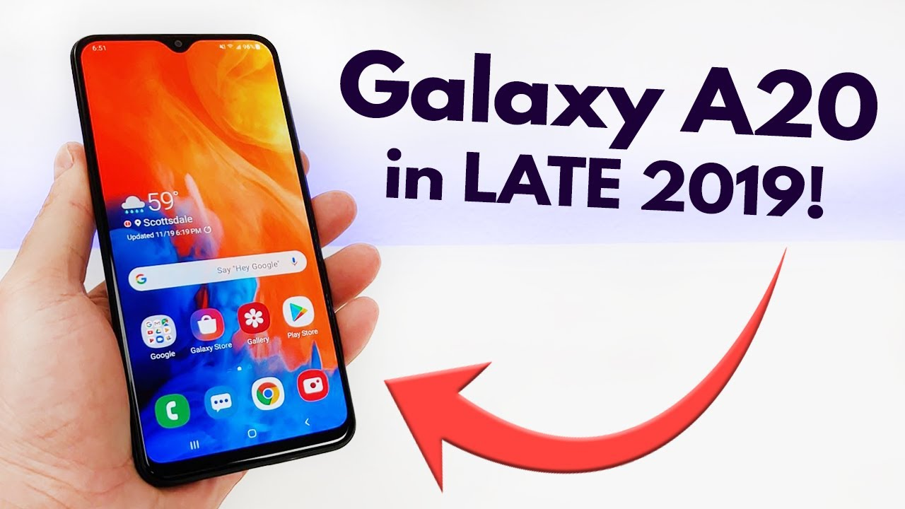 Samsung Galaxy A20 in LATE 2019! (Still Worth It?)