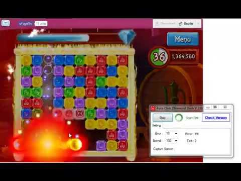 Diamond dash auto clicker v1. 1 download.