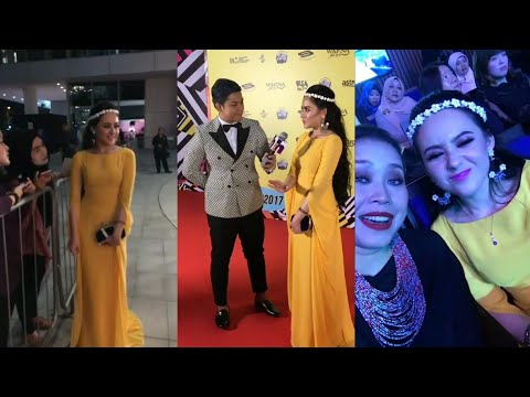 So Pretty! Hannah Delisha @ Anugerah Planet Muzik 2017