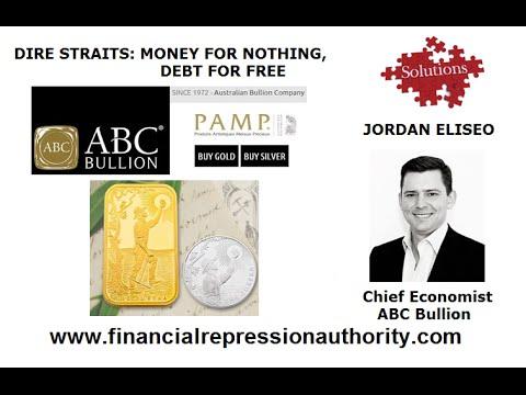 "06 16 15 Jordan Eliseo talks ""Dire Straits - Money for Nothing, Debt for Free!"""