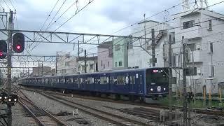 西武鉄道20105F(Lトレ)急行拝島行 小平到着