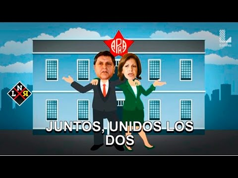 """Alan García y Lourdes Flores, """"juntos"""" en el musical de La Noticia Rebelde"""