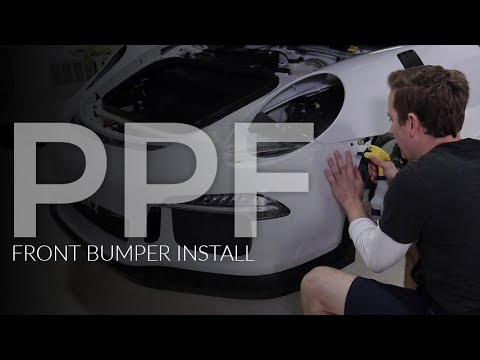 Epic GT3 RS at Esoteric: E14 - Suntek Ultra Install | Front Bumper