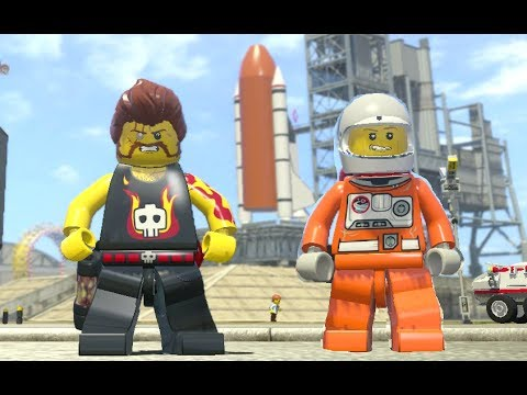 LEGO City Undercover - Apollo Island 100% Guide (All Collectibles)