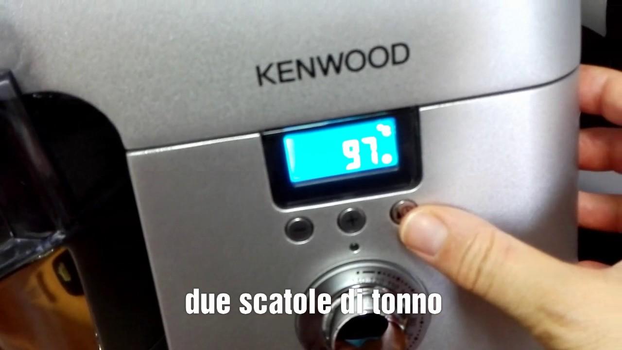 Pasta Tonno e Ciliegini con Kenwood Cooking Chef - YouTube