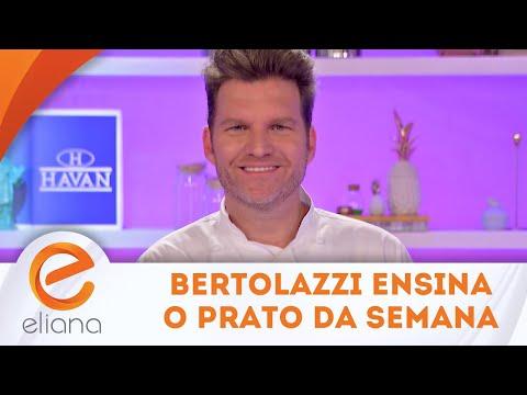 Bertolazzi ensina a fazer o carré de cordeiro do Minha Mulher Que Manda | Programa Eliana (09/09/18)