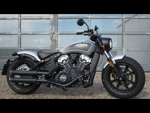 Indian Scout Bobber (Vance&Hines exhaust) | Start up and Sound