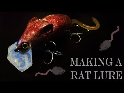 Making A Rat Lure Out Of Scrap Wood!