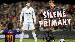 TOP 10 PŘÍMÝCH KOPŮ HVĚZD ft. Ronaldo - Messi - Neymar