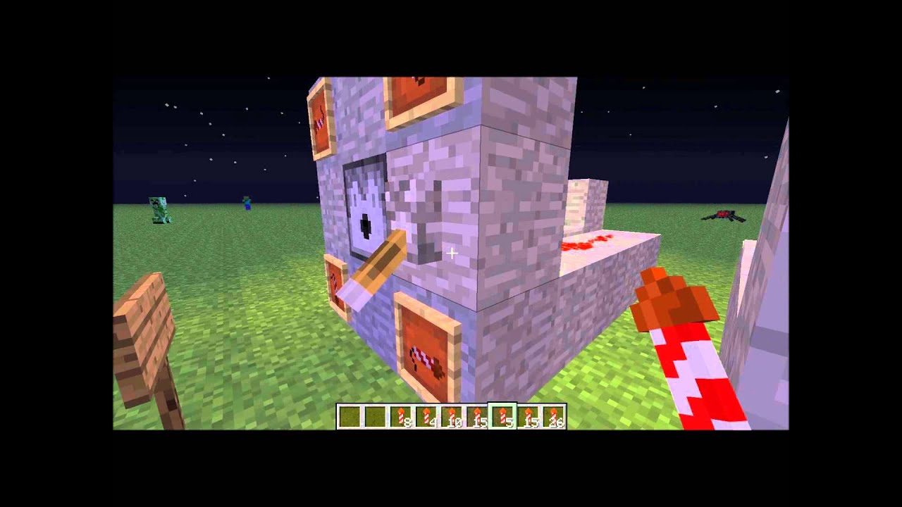 how to make a firework dispenser in minecraft pc
