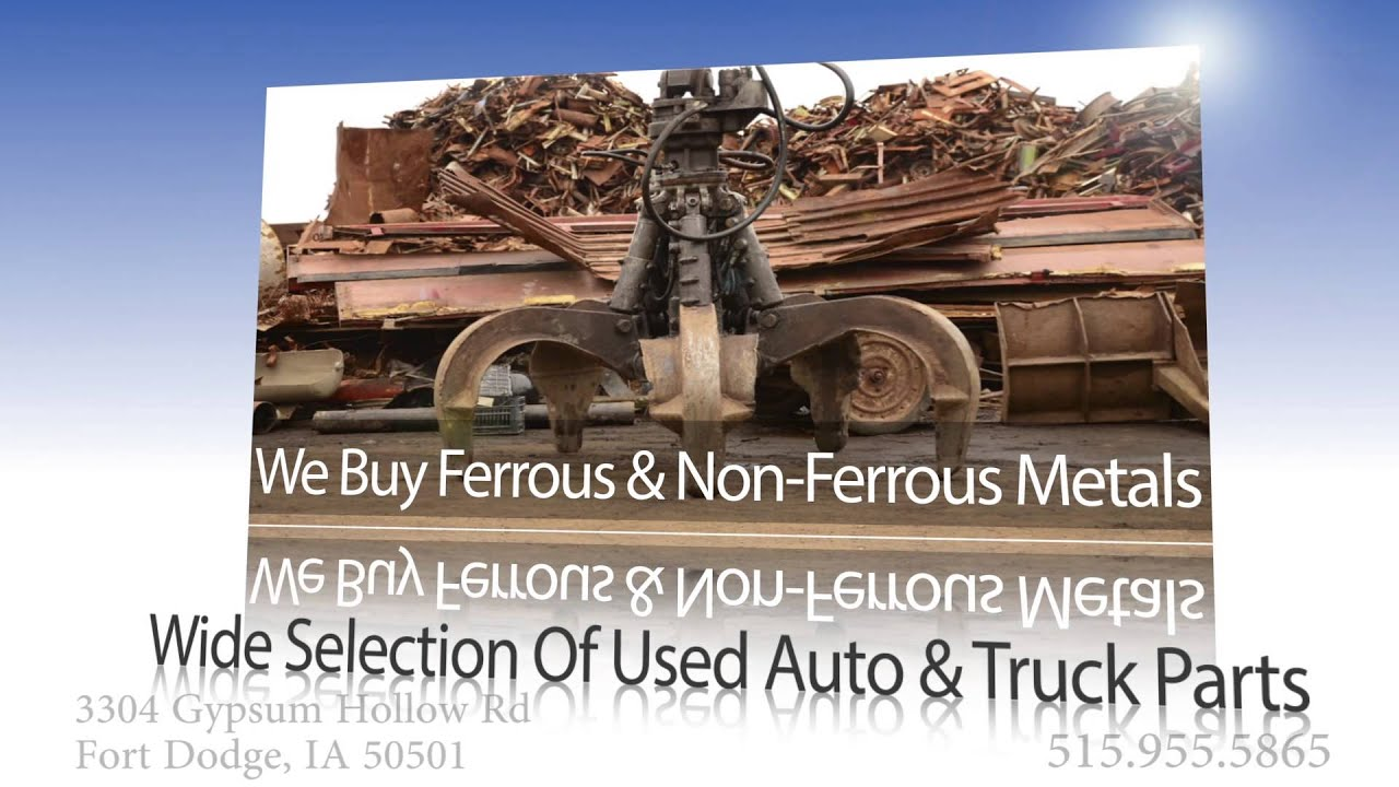 Franks Auto Salvage >> Scrap Yard and Metal Recycling in Iowa | Frank's Auto