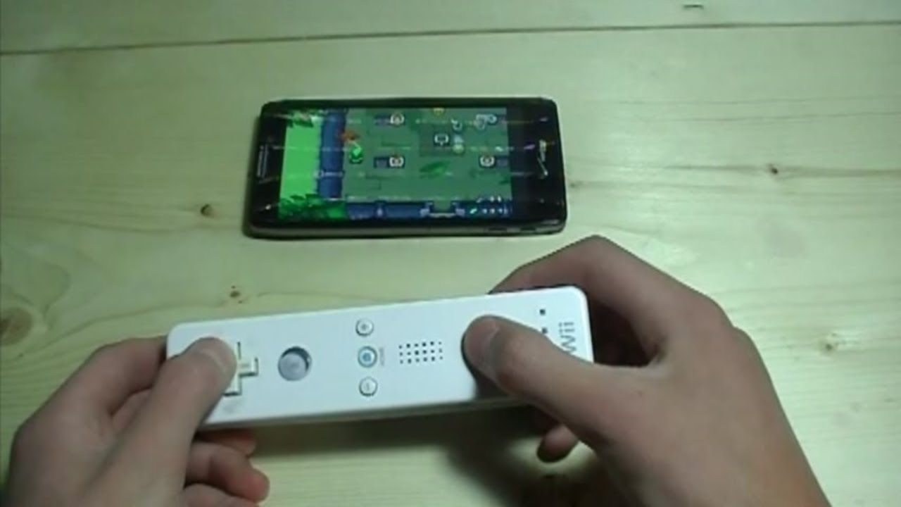 Playing GBA Games With a Wii Remote/Android