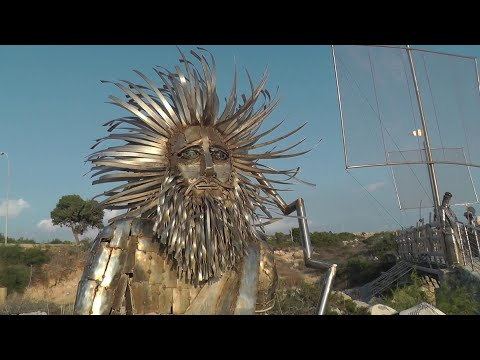 Парк скульптур и парк кактусов, Айя-Напа Кипр / Ayia Napa Cyprus достопримечательности