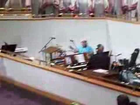 Hammond B3 Organ Praise NFC Musician at COFBC Beaumont, Texas