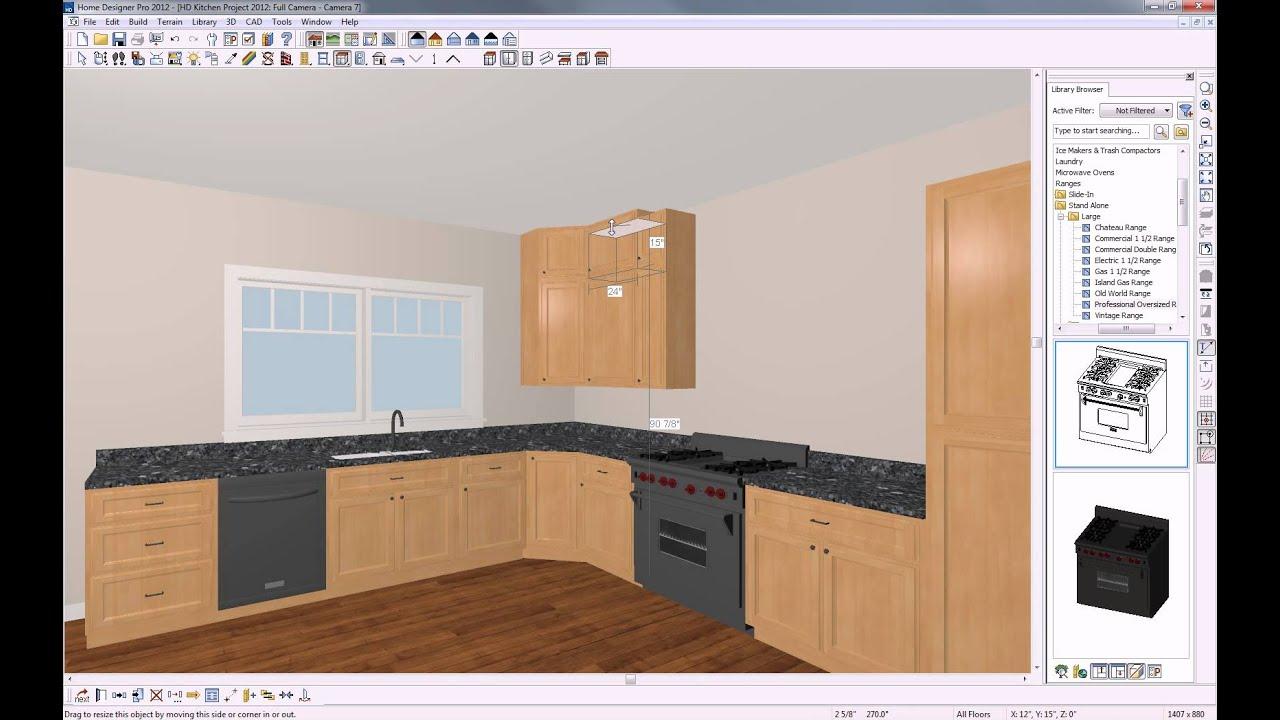 home designer software kitchen seminar 2012 - youtube