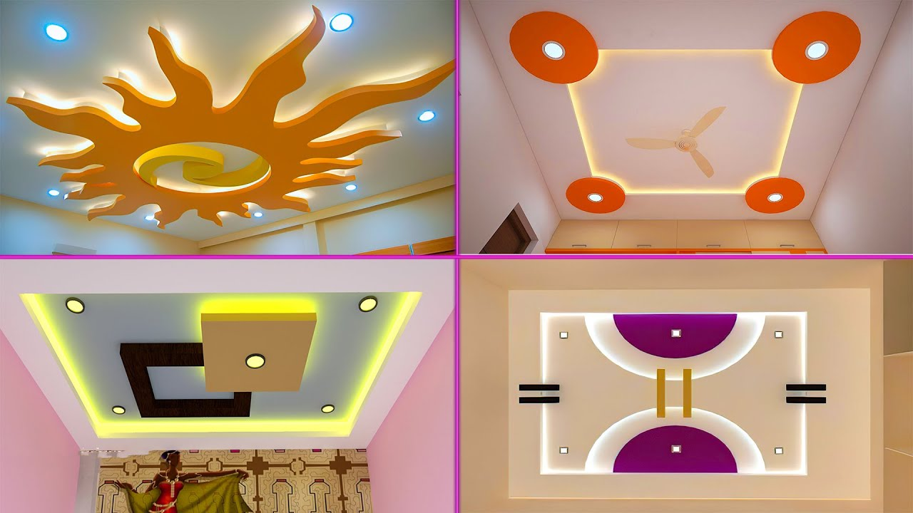 50 most beautiful pop ceiling designs for houses | simple pop design for  hall 2020 - YouTube
