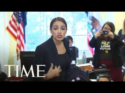Alexandria Ocasio-Cortez Joins Climate Change Activists In Protest At Nancy Pelosi's Office | TIME