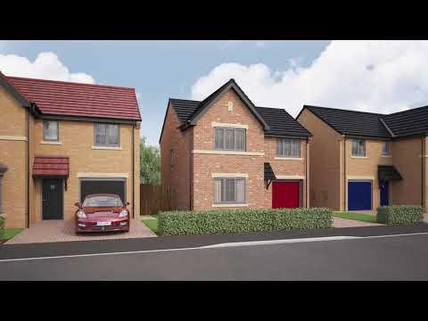 Miller Homes - Stephenson Meadows, Callerton, Newcastle Upon Tyne - CGI Development Tour