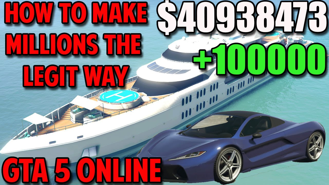 Best way to earn money in gta 5 online xbox one